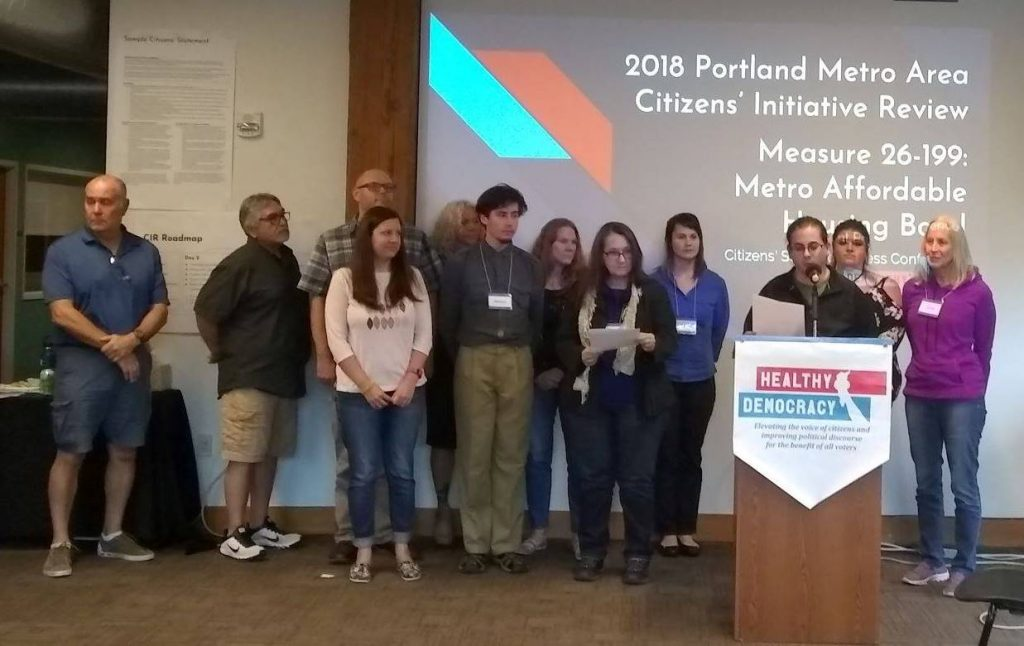 2018 Portland Metro Area CIR Community Information Meetings