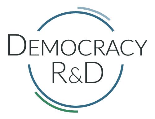 Democracy R&D logo